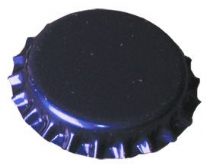 Crown corks 29mm BLUE 100 pcs Extra Seal (With Plastic Undercap)